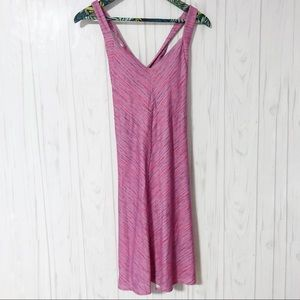 Tehama Pink Cross Back Athletic Casual Dress M